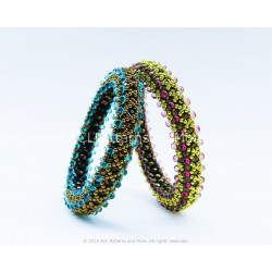Dew Bangle PDF Pattern