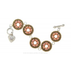 Isabella Bracelet / Earrings Kit - Rose