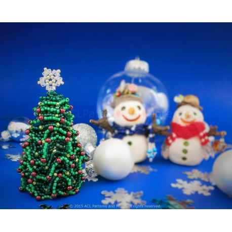 Christmas Tree Ornament PDF Pattern