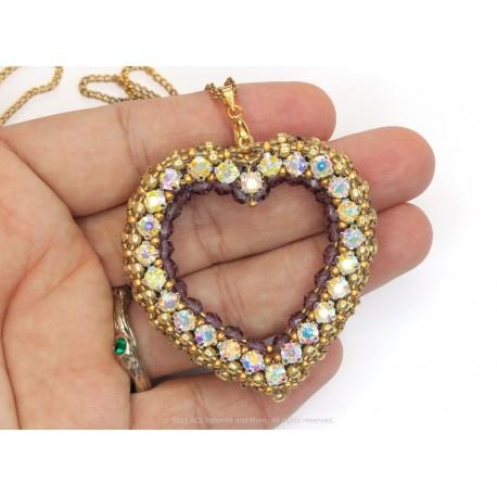 Princess Heart Pendant Kit -