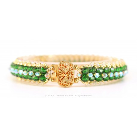 Muzo Bracelet Kit - Emerald Green