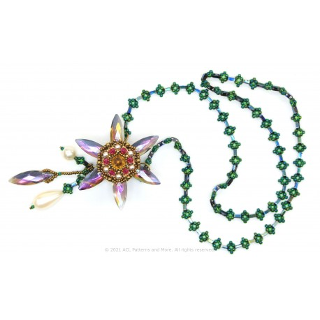 Dancing Water Lily Spinner Necklace Kit