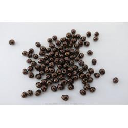 Drop Beads - Dark Bronze